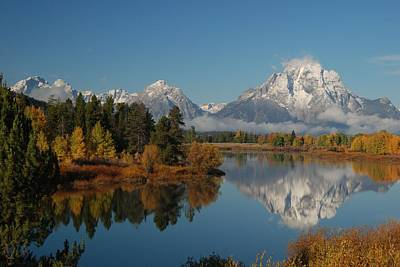 Teton Autumn Art Print by Craig Ratcliffe