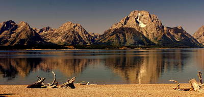 Art Print featuring the photograph Teton Panoramic by Marty Koch