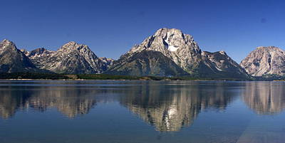 Art Print featuring the photograph Teton Panoramic View by Marty Koch