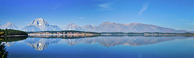 Photograph - Teton Reflections by Greg Norrell