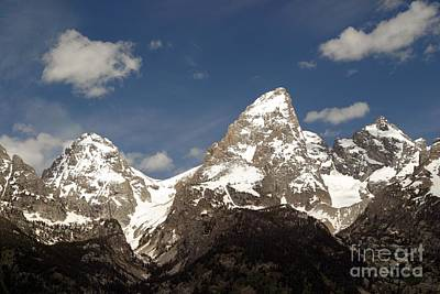 Art Print featuring the photograph Teton Tips by Living Color Photography Lorraine Lynch