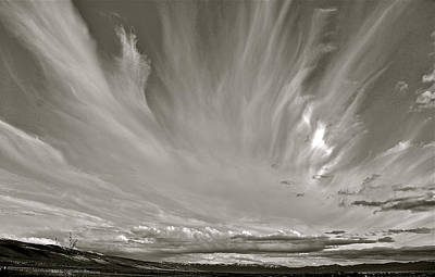 Photograph - Tetonia Sky by Eric Tressler