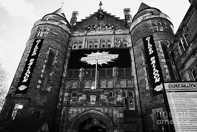 Student Union Photograph - Teviot Row House Students Union For The University Of Edinburgh by Joe Fox
