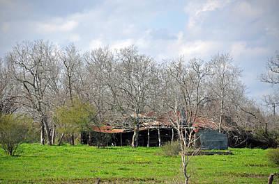 Photograph - Texas Barn 10 by Teresa Blanton