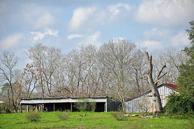 Photograph - Texas Barn 11 by Teresa Blanton
