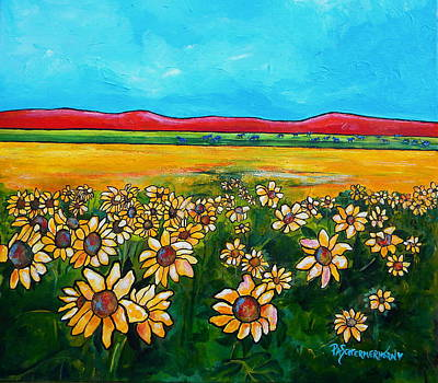Painting - Texas Blues by Patti Schermerhorn