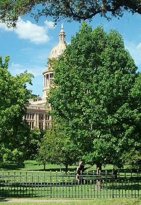 Texas Capitol Building In Austin Art Print