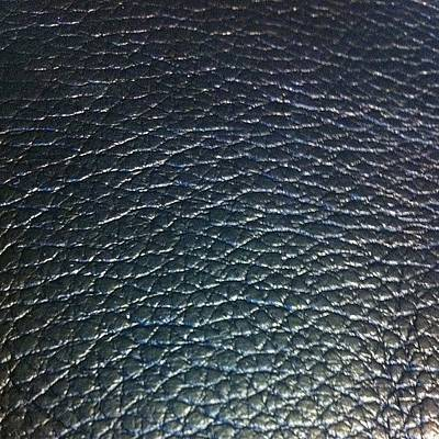 Leather Photograph - #texture #leather by Aubrey Erickson