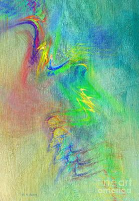 Abstract Digital Art Mixed Media - Textured Abstract by Deborah Benoit