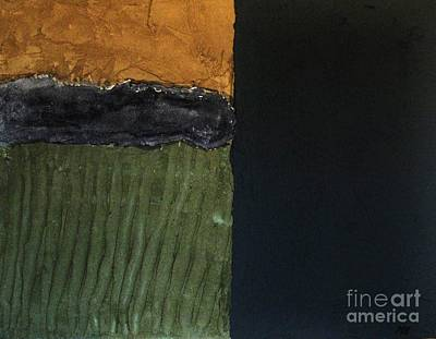 Olive Mixed Media - Textures Four L by Marsha Heiken