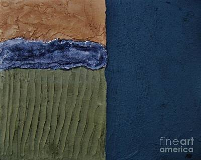 Mix Medium Mixed Media - Textures Four Ll by Marsha Heiken