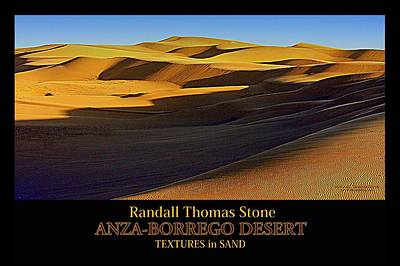 Photograph - Textures In Sand - Shifting Sands II by Randall Thomas Stone