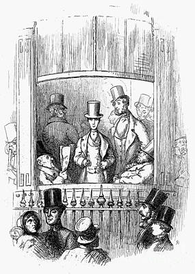 Thackeray: Newcomes, 1855 Art Print by Granger