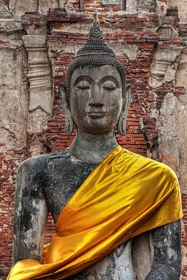 Wat Photograph - Thai Buddha by Adrian Evans