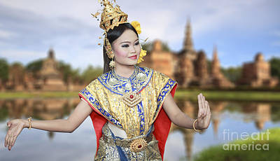 Thai Dance And Culture  Original by Anek Suwannaphoom