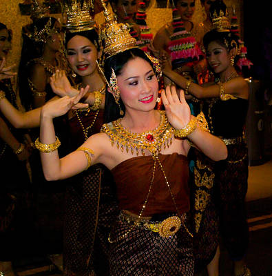 Photograph - Thai Dancers by Chua  ChinLeng