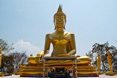 Thailand Buddha Statue. Original by Weerayut Kongsombut