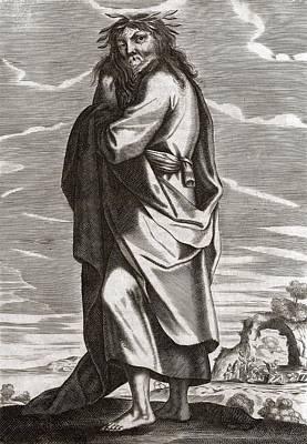Thales Of Miletus, Greek Philosopher Art Print