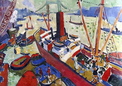 Thames Near London Bridge Art Print by Aleksandr Volkov