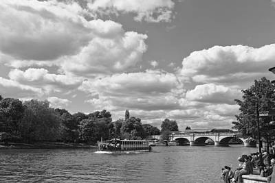 Art Print featuring the photograph Thames River Cruise by Maj Seda