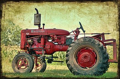 Thank A Farmer Art Print by Bonnie Barry