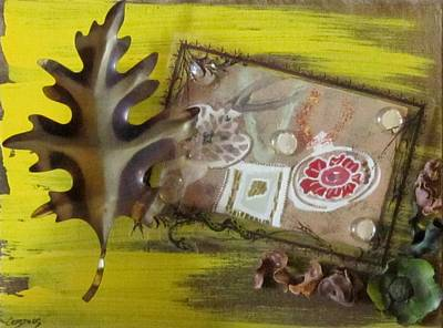 Painting - Thanksgiving by Jarunee Ward