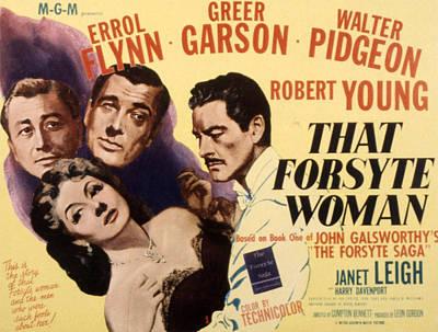 That Forsyte Woman, Greer Garson, Errol Print by Everett
