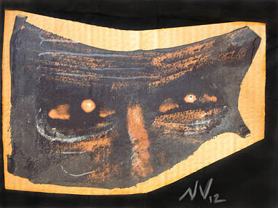 Creepy Mixed Media - That Sparkle In His Eye by Nicholas Vermes