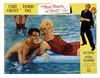 That Touch Of Mink, Cary Grant, Doris Art Print by Everett