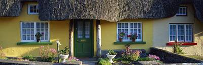 Thatched Cottage, Adare, Co Limerick Art Print by The Irish Image Collection