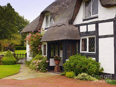Thatched Cottage Original by John Chatterley
