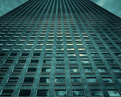 Building Photograph - That's A Lot Of Glass by Noah Katz