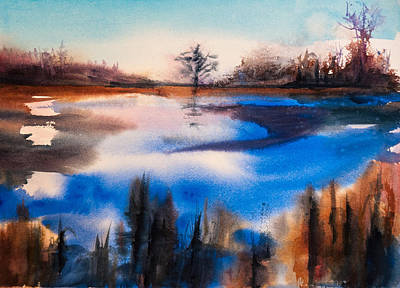 Thawing Time Painting - Thaw by Vera Kovacovic