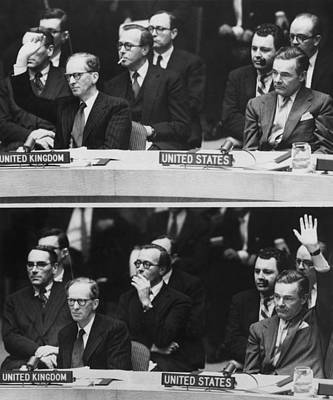 The 1956 Suez Crisis Strains Print by Everett
