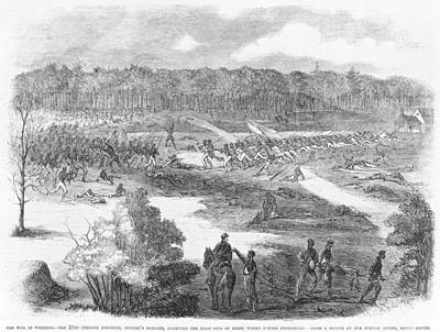 The 22nd Colored Regiment, Duncans Print by Everett
