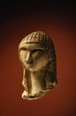 Ivory Carving Photograph - The 25,000-year-old Ivory Venus by Sisse Brimberg