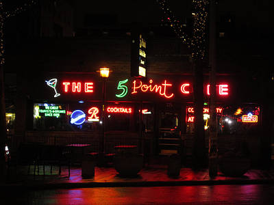 Martini Royalty-Free and Rights-Managed Images - The 5 Point Cafe by Kym Backland