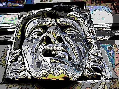 Gimp Digital Art - The Abscess by Tim Allen