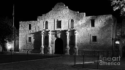 The Alamo Panorama Art Print