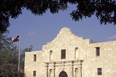 Photograph - The Alamo San Antonio Texas by John  Mitchell