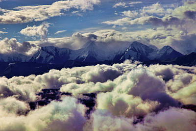 Photograph - The Alaska Range by Rick Berk