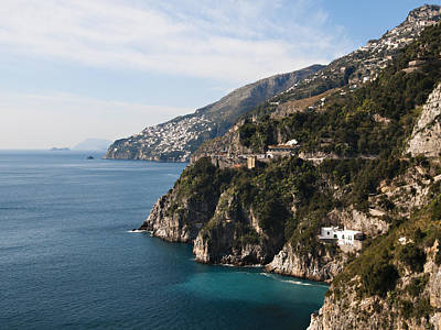 Y120907 Photograph - The Amalfi Coastline by Driendl Group