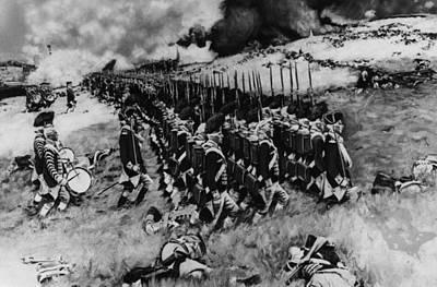 The American Revolution, The Battle Art Print