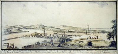 The American Revolution, View Art Print by Everett