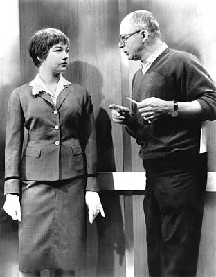 On Set Photograph - The Apartment, Shirley Maclaine by Everett