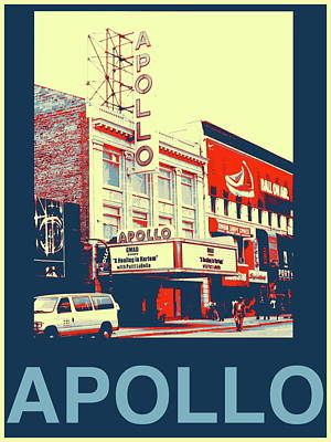 Apollo Theater Photograph - The Apollo by Marvin Blatt
