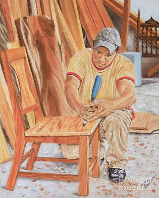 Wooden Shoes Painting - The Apprentice by Jim Barber Hove