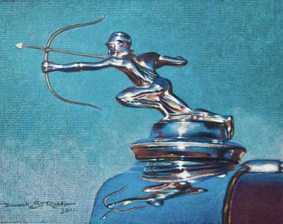 The Archer Art Print by Deb Richter