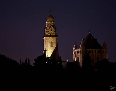 Photograph - The Armenian Church At Night by Endre Balogh