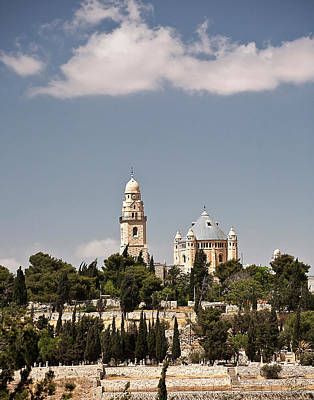 Photograph - The Armenian Church In Jerusalem by Endre Balogh